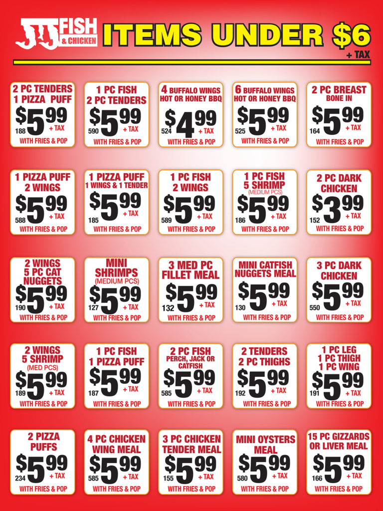 under $6 items poster
